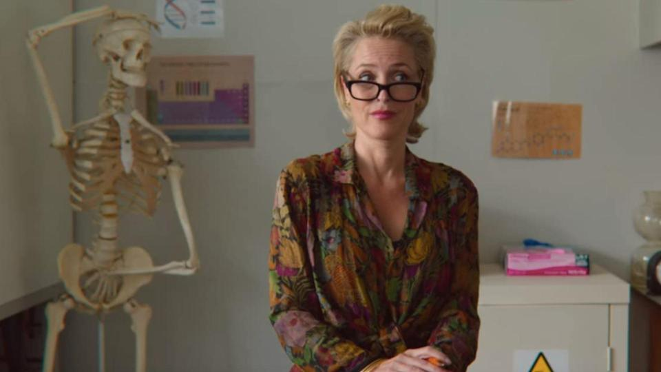 Gillian Anderson in Sex Education
