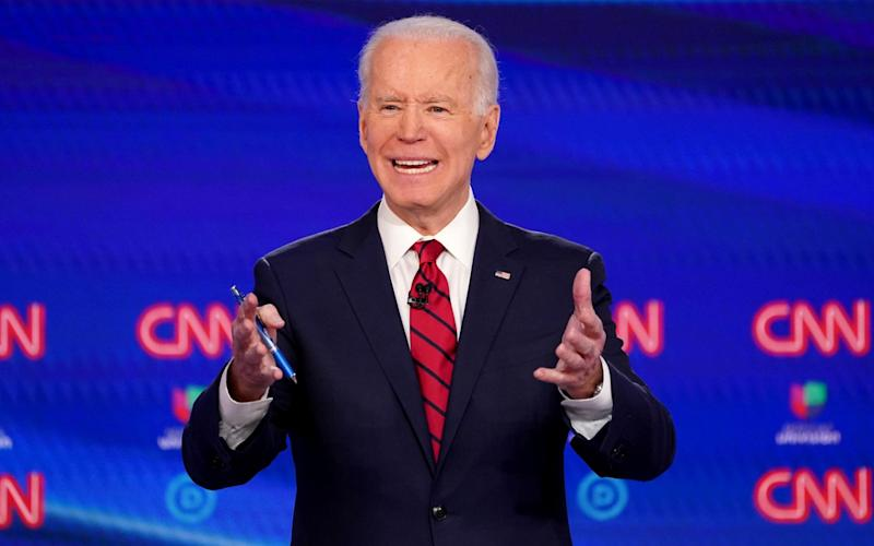 "Biden said: ""I shouldn't have been such a wise guy"" - REUTERS"