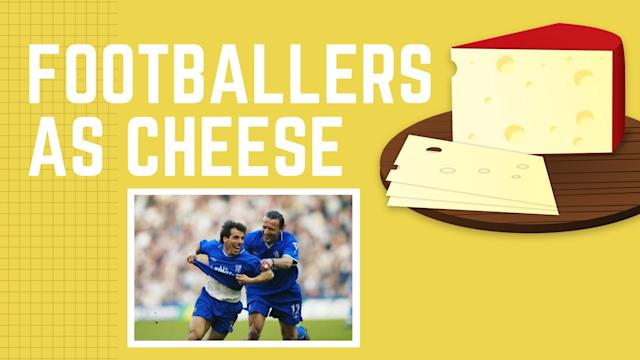 <p>As it is National Cheese Lovers Day, Yahoo Sport UK has imagined a world where footballers and the smelly dairy products collide. </p>