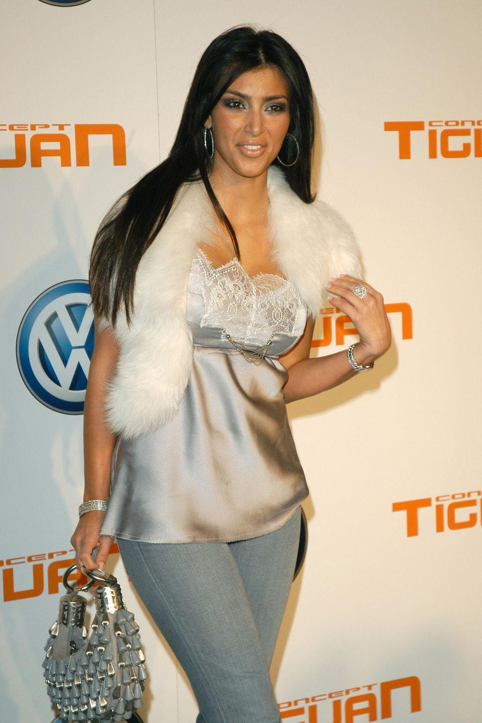 <p>Back in the early 2000's, Kim Kardashian West stepped onto the scene as Paris Hilton's best friend and occasional stylist. She slowly emerged as a star of her own rite, thanks to a sex tape and the start of her family's reality show, <em>Keeping Up With The Kardashians</em>. At this time, Kardashian West wore every trend imaginable and a <em>lot</em> of dark eye makeup. </p>