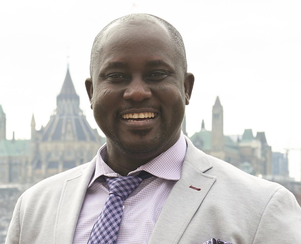<p>Pius Adesanmi<br />(Photo from the Canadian Press) </p>
