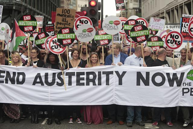 Austerity proved controversial after the last economic crisis. (PA)