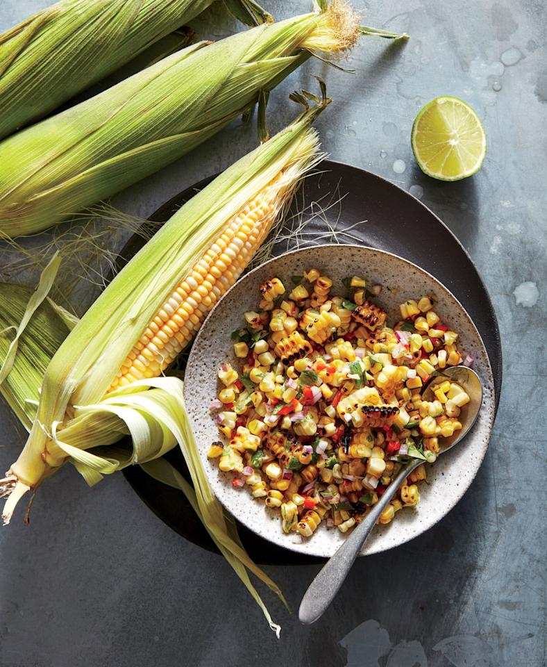 "<p>Fresh corn is pure summer. Peel back a cob and poke a plump kernel with a thumbnail to see the sweet milk. Beyond the whole cob lie these of-the-moment recipes: tangy corn salad, crisp <a href=""https://www.cookinglight.com/food/grilled-corn"" target=""_blank"">grilled corn</a>, savory corn casserole, creamy corn chowder, and comforting corn soup.</p> <p>Corn's mild sweet flavor makes it easy to love. Corn is also impressively versatile—and it can easily go from quick-and-easy side dish to show-stopping main. While corn is typically treated like a vegetable in cooking, it's actually a <a href=""https://www.cookinglight.com/nutrition-101/essential-whole-grain-foods-you-need-your-diet"">healthy whole grain</a>. It's also a rich source of antioxidants, and whether you enjoy it on or off the cob, corn has a rightful spot in a healthy diet. Our healthy corn recipes explore both classic and <a href=""https://www.cookinglight.com/food/in-season/9-new-corn-recipes-for-summer"" target=""_blank"">clever ways to use fresh corn</a>—from from corn chowder to grilled corn, corn casserole to corn salad, and so much more.</p>"