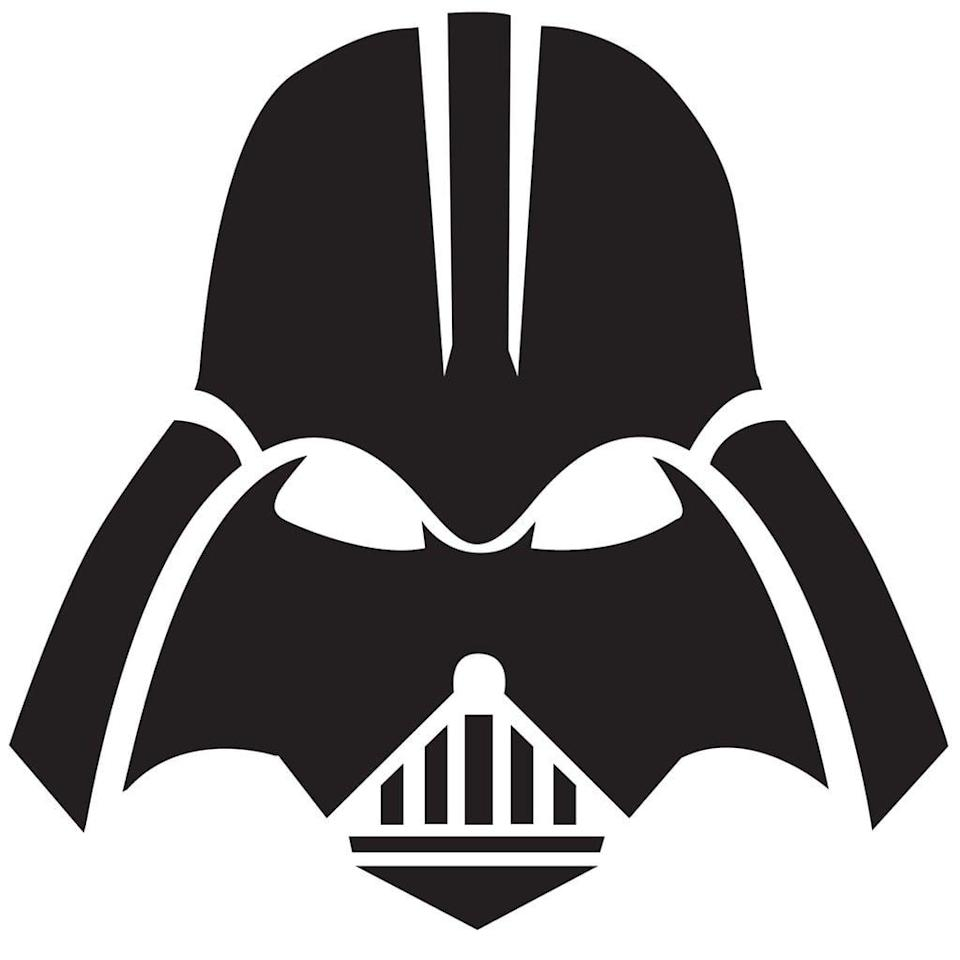 """<p>What better pumpkin stencil than one of the most notorious villains of all time. Just imagine those eyes glowing from within. Find more <a href=""""http://www.popsugar.com/tech/Free-Star-Wars-Pumpkin-Templates-42465422"""" class=""""link rapid-noclick-resp"""" rel=""""nofollow noopener"""" target=""""_blank"""" data-ylk=""""slk:free Star Wars stencils here"""">free Star Wars stencils here</a>.</p> <p> <a href=""""http://media1.popsugar-assets.com/files/2018/10/12/012/n/44785883/5a60db962d814f02_Darth-Vader-Mask/i/Darth-Vader-Mask.jpg"""" class=""""link rapid-noclick-resp"""" rel=""""nofollow noopener"""" target=""""_blank"""" data-ylk=""""slk:Download the stencil here."""">Download the stencil here.</a> </p>"""