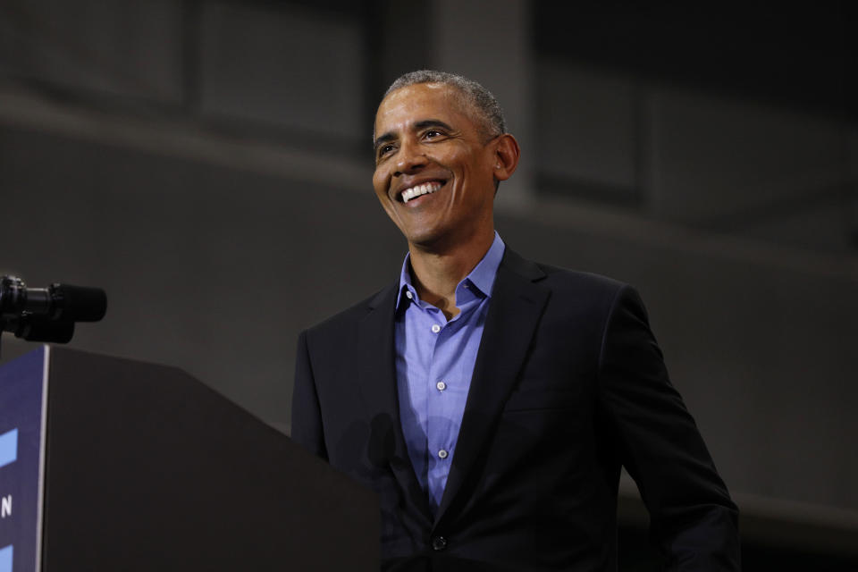Former President Barack Obama shared his favorite books, movies and songs of 2018. (Photo: Getty Images)