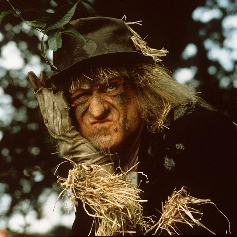 Jon Pertwee as Worzel Gummidge  - Credit: Rex
