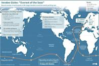 Route of the Vendee Globe 2020/2021