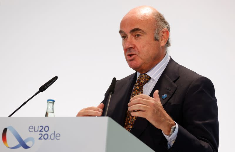 Vice-presidente do Banco Central Europeu, Luis de Guindos