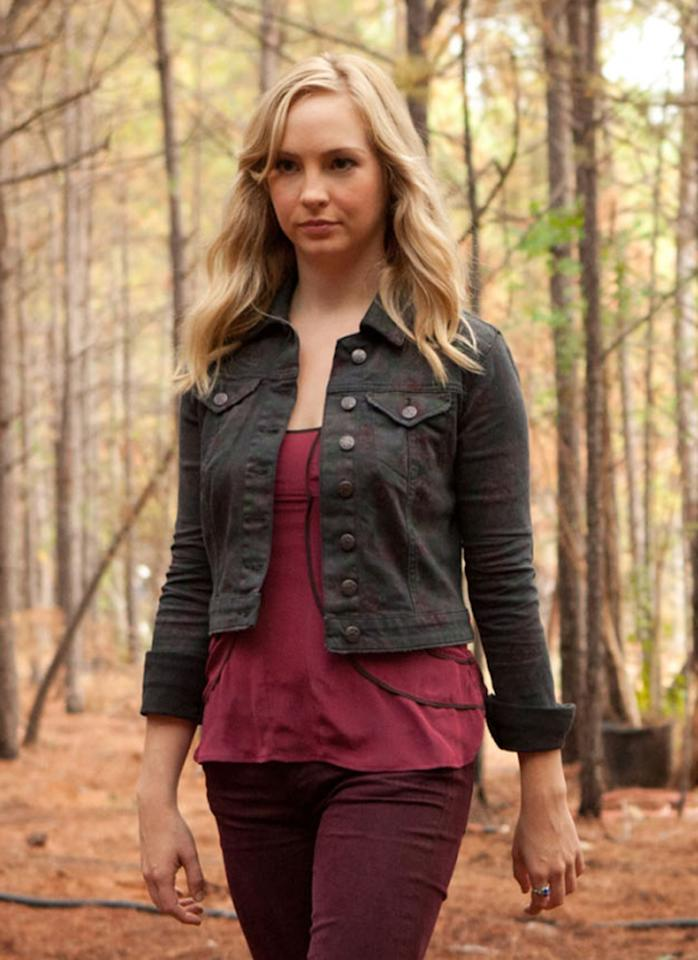 "<p><b>Caroline ('<a href=""http://tv.yahoo.com/vampire-diaries/show/44270"">The Vampire Diaries</a>')</b><br><br> Elena gets easily distracted by the Brothers Salvatore, but no pesky young vampires are good enough for Caroline. She tamed a wicked werewolf and only goes after vampires of the original variety. And she uses her fangs sparingly, as she's far more effective with cutting words. Oh, and she just looks lovely while doing it all. </p>"