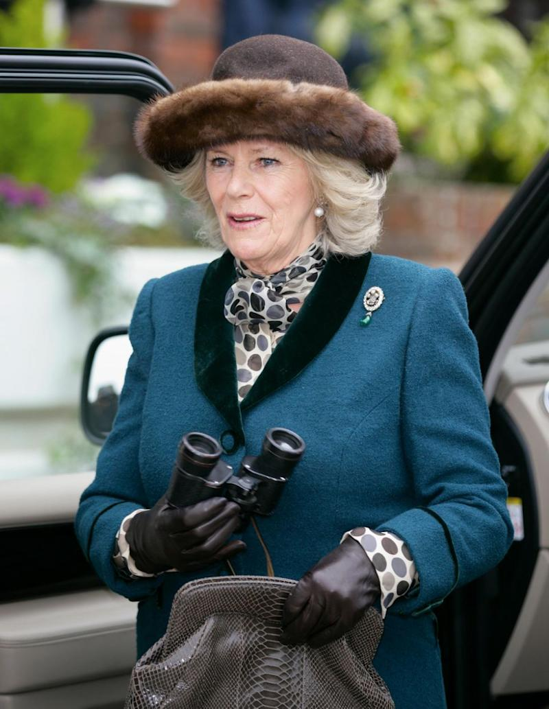 The brooch is now worn by Camilla. Photo: Getty Images
