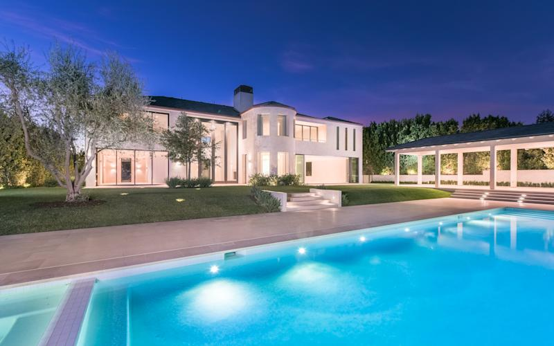 The couple has sold their sprawling mansion in Bel-Air, California.
