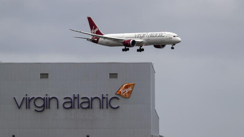 Virgin Atlantic launches free Covid-19 insurance cover for customers