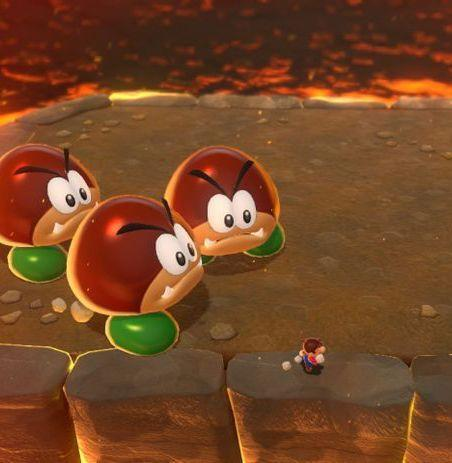 <p>These things used to be an abomination in my eyes. <em>Why were the goombas so weird in </em>Super Mario World<em>? </em>The question kept 9-year-old me up for weeks, but now all has been made clear. They're not goombas anymore; they're Galoombas. Why adding an L took them from worst to best I really don't know. But Galoombas are the best enemy in any game, period. They're tough, they're round, and they're cute, and that's apparently my type. <em>—C.S.</em></p>