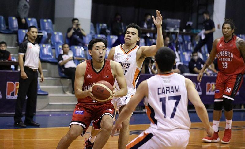 Barangay Ginebra keeps perfect record intact with rout of Meralco