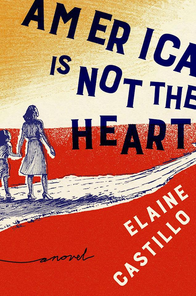 """<p><em>America Is Not the Heart</em> (Viking), Elaine Castillo's powerful debut, follows an extended family of Filipino immigrants as they grapple with a violent past and a precarious future. </p><p><em>America Is Not the Heart (Viking), $16.84; amazon.com</em></p><p><a rel=""""nofollow"""" href=""""https://www.amazon.com/America-Not-Heart-Elaine-Castillo/dp/073522241X"""">SHOP</a><br></p>"""