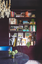 """<p>""""One of the things I did in my office was clad the walls in a fabric. I chose a faux pony and it makes the space feel so much more luxurious. It's also fab having all this hidden storage for coats, shoes, printers and books.""""</p>"""