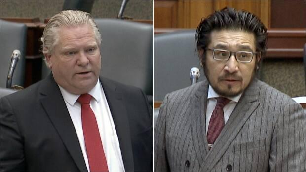 Premier Doug Ford's office says he has apologized for his commentsaccusing Indigenous MPPSol Mamakwa of jumping the line to get a COVID-19 vaccine. (CBC - image credit)
