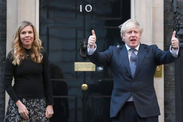 Boris Johnson and Carrie Johnson already have one son together, Wilfred, aged 15 months