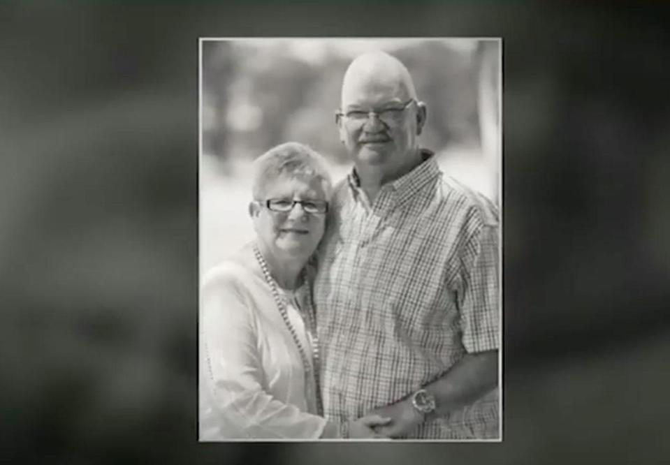 Deon Hewitt, 74, was assaulted with a weapon, believed to be a hammer, and died at his Flinders Park home. Photo: 7 News