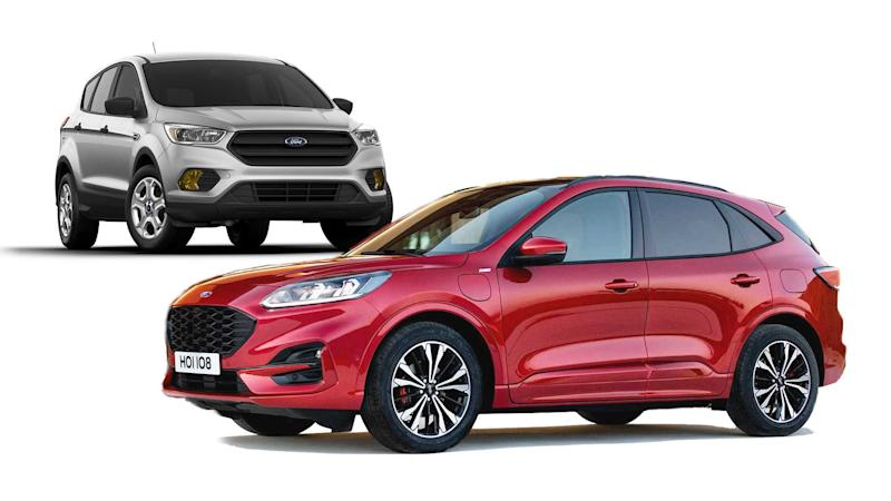 2020 ford kuga see the changes side by side. Black Bedroom Furniture Sets. Home Design Ideas
