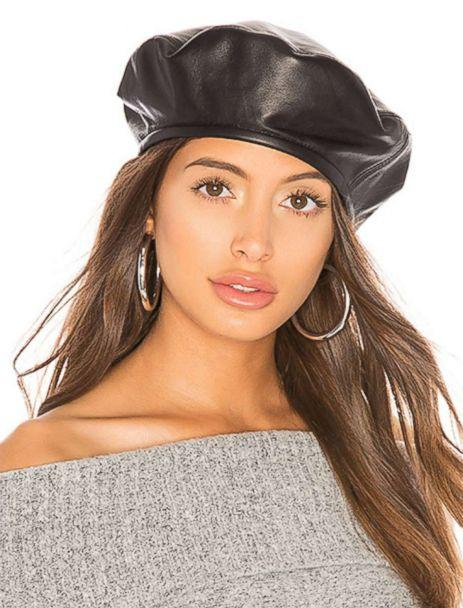 PHOTO: French girls, Bella Hadid and Rihanna all agree: The beret is chic. Style yours with skinny sunglasses for a certain je ne sais quoi confidence. (Revolve)
