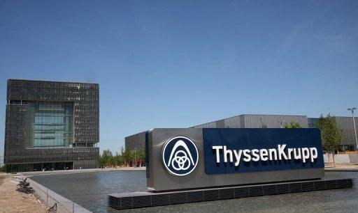 ThyssenKrupp posts 4.7 bn euro annual loss