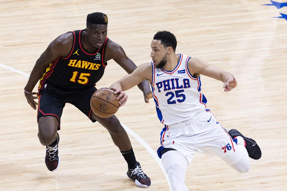 Ben Simmons scored five points in the 76ers' Game 7 loss to the Hawks.