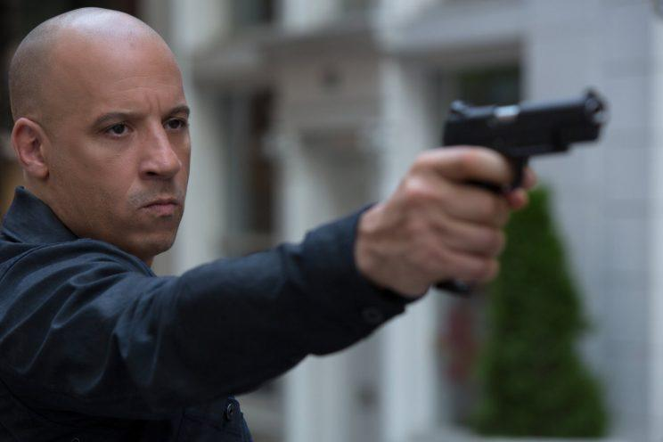 Vin Diesel as Dominic Torretto in 'Fast & Furious 8' (credit: Universal)