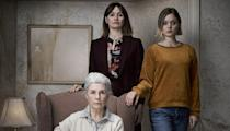 """<p>In <em>Relic,</em> a superb horror movie from first-time director Natalie Erika James, a family is haunted not by ghosts or demons: It's dementia. The slow tension and creeping dread will keep you on edge, while the subtly brilliant performances from Emily Mortimer, Robyn Nevin, and Bella Heathcote will tear your heart apart.</p> <p><a href=""""https://www.amazon.com/Relic-Emily-Mortimer/dp/B08CF5PTYY"""" rel=""""nofollow noopener"""" target=""""_blank"""" data-ylk=""""slk:Available to buy on Amazon Prime Video"""" class=""""link rapid-noclick-resp""""><em>Available to buy on Amazon Prime Video</em></a></p>"""