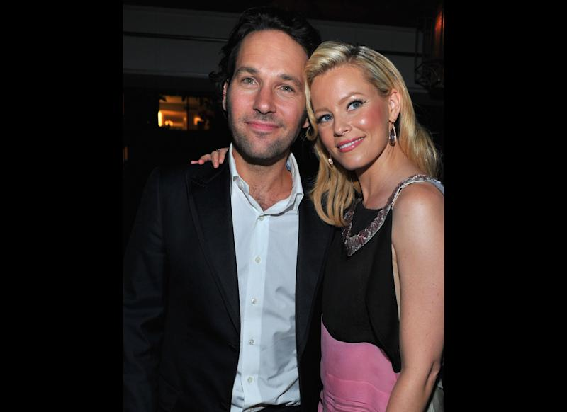 Actor Paul Rudd and actress Elizabeth Banks attend the after party for The Weinstein Company's 'Our Idiot Brother' on August 16, 2011 in Los Angeles, California. (Getty)