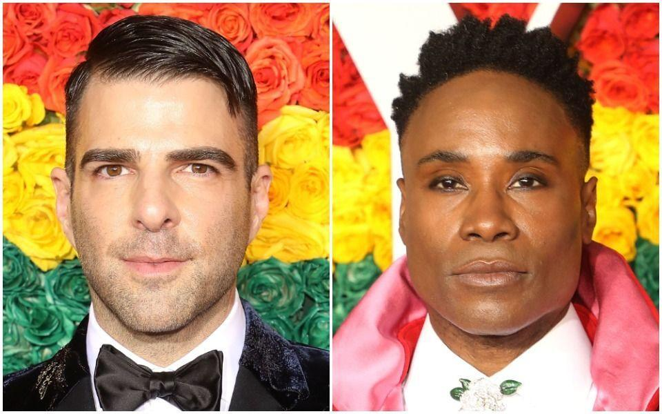 """Actors Zachary Quinto (left) and Billy Porter will provide voices for """"The Proud Family: Louder and Prouder."""" (Photo: Getty Images)"""