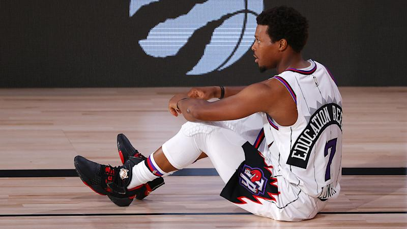 Raptors star Kyle Lowry battling ankle sprain