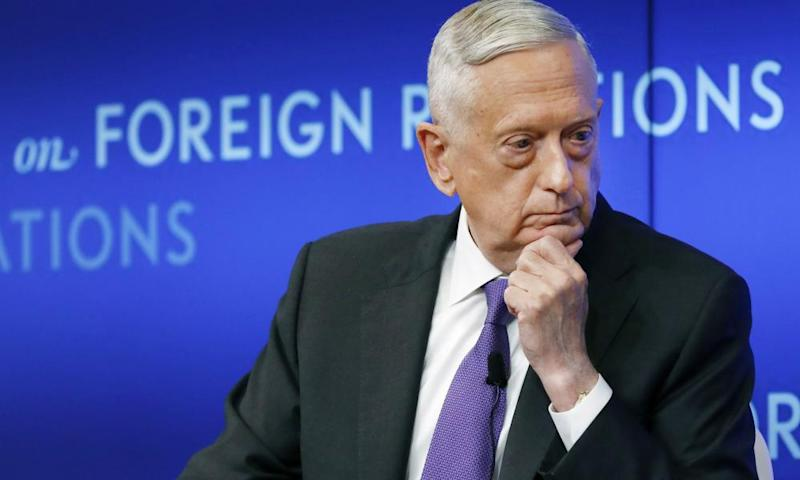 'Donald Trump is the first president in my lifetime who does not try to unite the American people – does not even pretend to try,' said marine general and Trump's former defense secretary James Mattis.