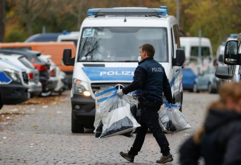 Police have raided dozens of properties in connection with the heist (AFP/Odd ANDERSEN)