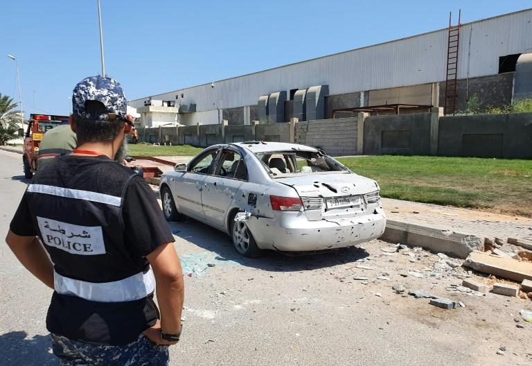 Mitiga airport has been hit multiple times by rockets and air strikes
