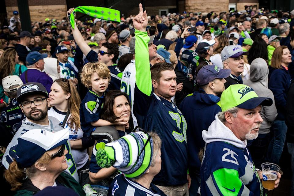 It's a nice era in which to be a Seattle fan. This team has a loaded D, a friendly division and a franchise QB. (AP Photo/seattlepi.com, Jordan Stead)