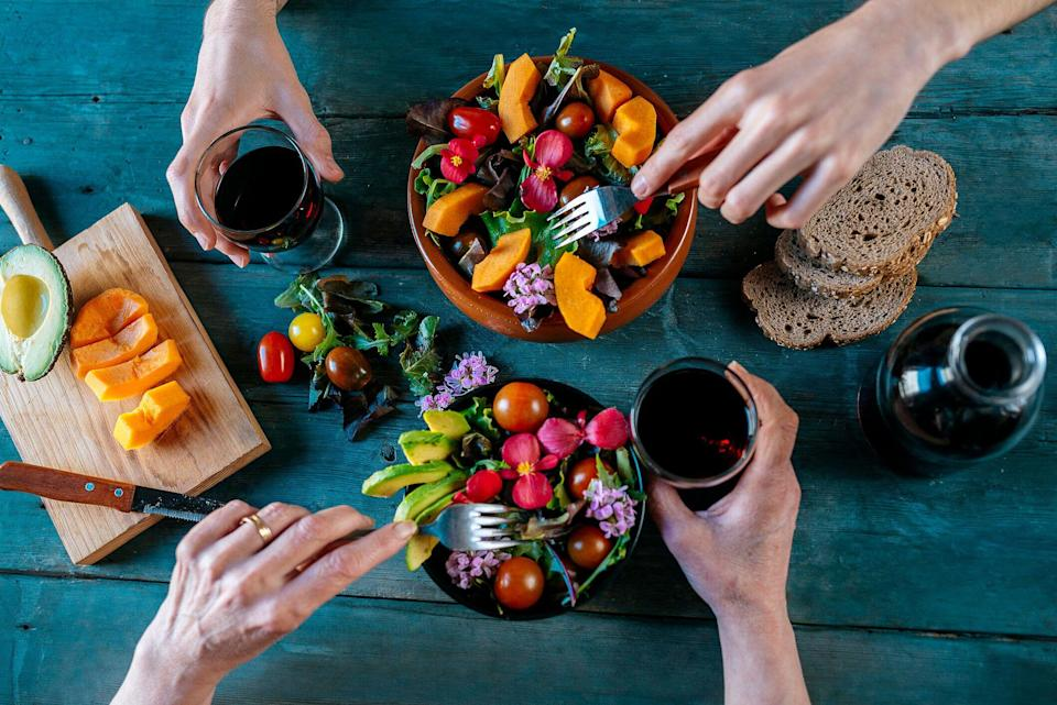 Upping your fruit and vegetable intake could help lower breast cancer risk [Photo: Getty]