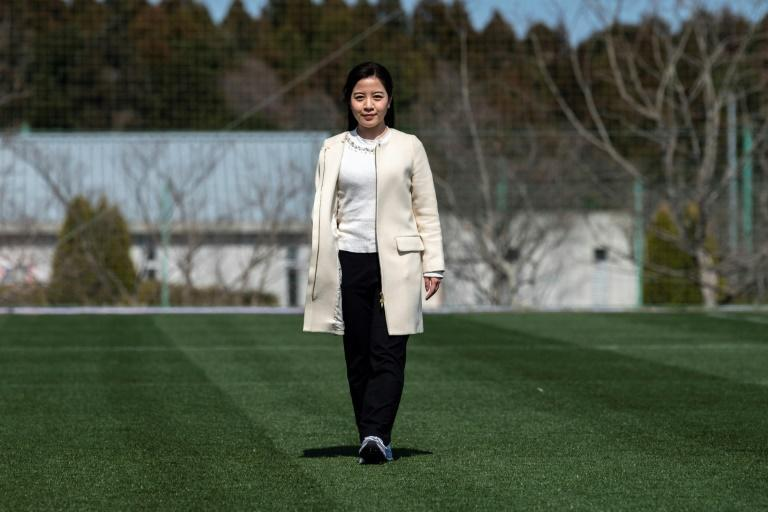 TV reporter Hanae Nojiri will be one of the torch-bearers in the relay, which will start at the restored J-Village football training centre