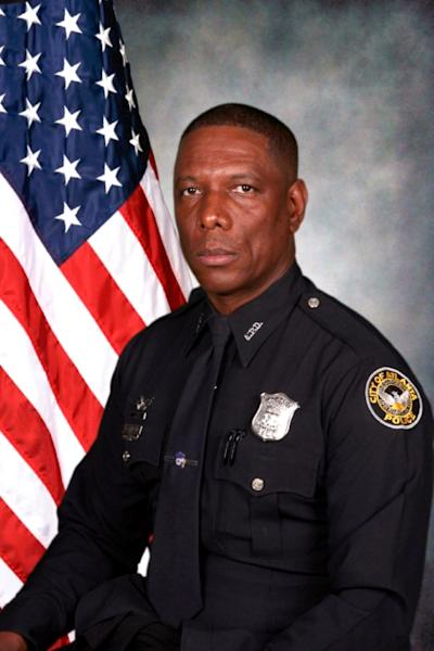This photo provided by the Atlanta Police Department shows Richard Halford. Halford is one of two officers identified Sunday, Nov. 4, 2012, who were killed in a helicopter crash the night before while searching for a missing child. Halford, 48, was a pilot, of Lithia Springs, who had been with the department for 26 years. The second officer was Shawn A. Smiley, 40, of Lithonia, was a tactical flight officer who joined the department two years ago. (AP Photo/Atlanta Police Department)