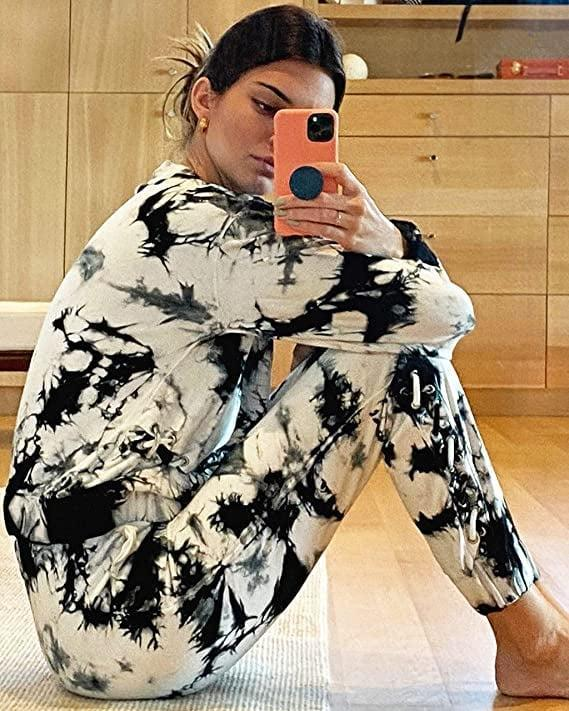 <p>You can get sweatpants to match this <span>KENDALL + KYLIE Front Lace-Up Sweatshirt</span> ($59) as well.</p>
