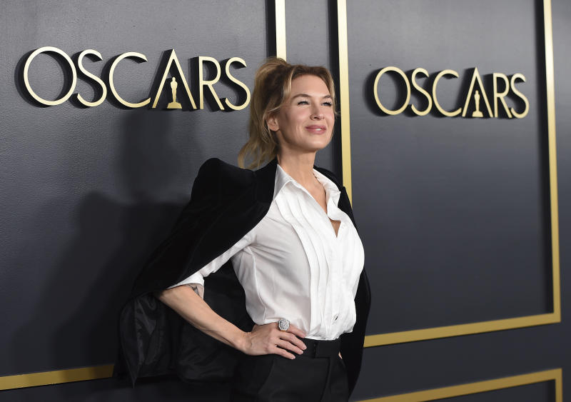 Renee Zellweger arrives at the 92nd Academy Awards Nominees Luncheon at the Loews Hotel on Monday, Jan. 27, 2020, in Los Angeles. (Photo by Jordan Strauss/Invision/AP)