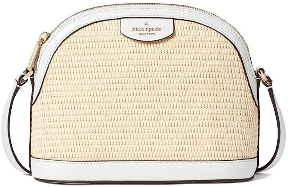 <p>You'll reach for this <span>Kate Spade Sylvia Straw X Large Dome Crossbody Bag</span> ($82) for every occasion, it is that versatile.</p>