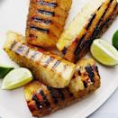 "<p>Grilling is by far the best way to eat pineapple. And it's how you can make underripe pineapple taste amazing. Grilling brings out all of the pineapple's juices, and those juices will caramelise (and char) over the hot grates. Trust us, this is a good thing. </p><p>Get the <a href=""https://www.delish.com/uk/cooking/recipes/a35721468/grilled-pineapple-recipe/"" rel=""nofollow noopener"" target=""_blank"" data-ylk=""slk:Grilled Pineapple"" class=""link rapid-noclick-resp"">Grilled Pineapple</a> recipe.</p>"