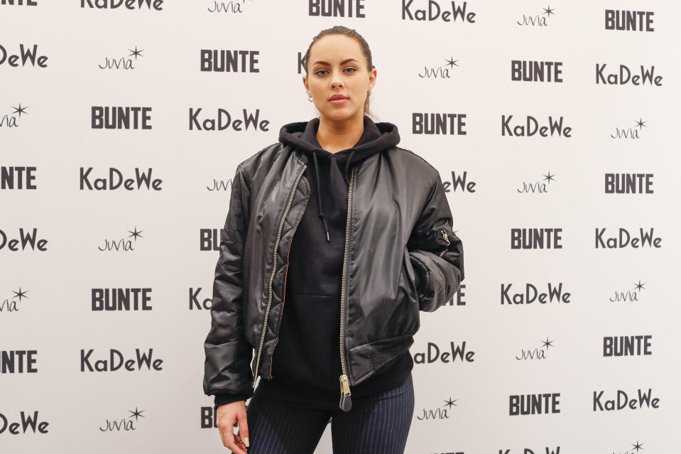 BERLIN, GERMANY - NOVEMBER 15: Kasia Lenhardt during the Monaco, Baby! Goes 030 - BUNTE At KaDeWe Berlin on November 15, 2018 in Berlin, Germany. (Photo by Franziska Krug/Getty Images for KaDeWe)