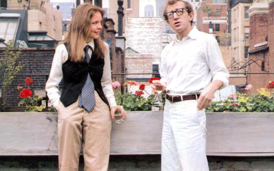 Diane Keaton and Woody Allen in Annie Hall - REX
