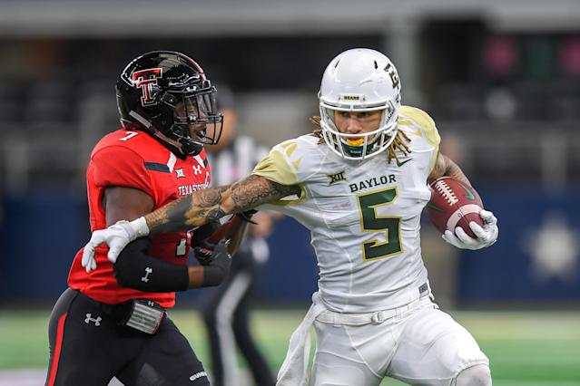 Baylor Jalen Hurd used to share the backfield with Alvin Kamara when they both were at Tennessee. (Getty Images)