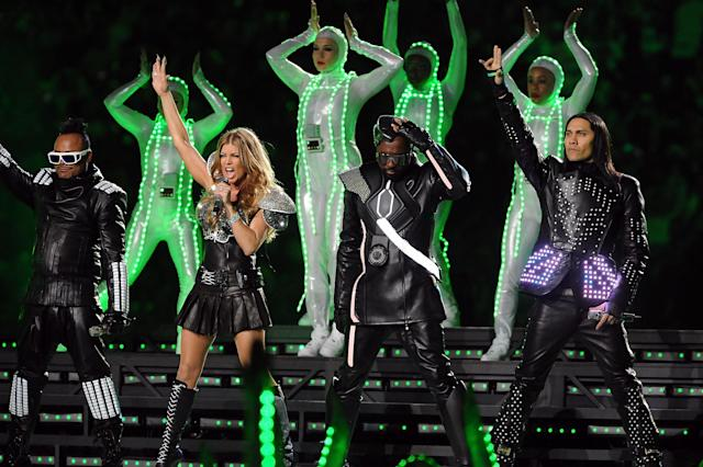 2011: Black Eyed Peas. (Photo by Jeff Kravitz/FilmMagic)