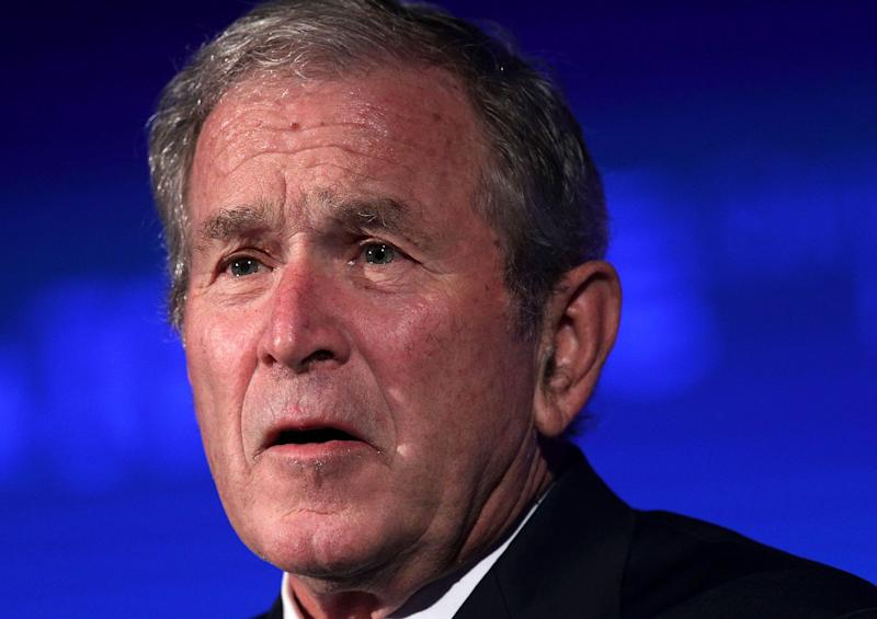 George W. Bush Takes Opposite Tack To Trump, Stating There's 'Pretty Clear Evidence' Russia Meddled In U.S. Election