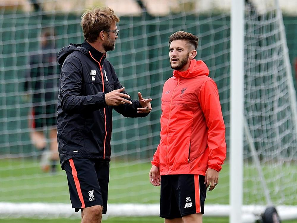 Klopp rewarded the player with a new contract last month (Getty)