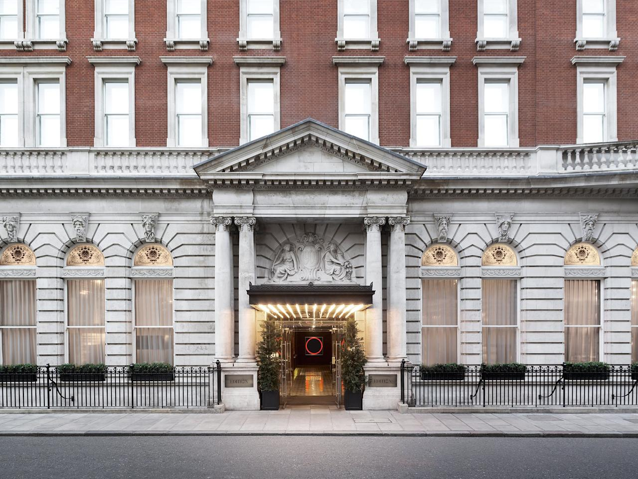 """<p><strong>How did it strike you on arrival?</strong><br> Ian Schrager is best known for Studio 54 in <a href=""""https://www.cntraveler.com/destinations/new-york-city?mbid=synd_yahoo_rss"""">New York</a> and launching the concept of boutique hotels, so unsurprisingly, walking into this property feels like joining the party. The lobby is also the bar, with a billiards table, lofty stucco ceiling, giant chrome egg dangling from it, and open fire—there'll be loud chatter over gin and tonics and people reclining on sofas pretending to work on their MacBooks. It's an entertaining mix of bright young things, finance swells, and hipster guests. And no wonder: The hotel, along with being one of London's most stylish spots right now, is home to the Punch Room, one of the hottest clubs in town, located in the middle of Fitzrovia.</p> <p><strong>What's the crowd like?</strong><br> The glamorous, sociable kind. This hotel is all about moving and shaking in the impressive communal spaces.</p> <p><strong>The good stuff: Tell us about your room.</strong><br> Schrager has partnered with Marriott to launch the Edition brand and, as such, the rooms don't vary much, except for size. They're good, though: White walls and linen are warmed up by oak floors and paneling, along with faux fur throws. The smallest of the rooms feel a touch shoebox, although all have a slim desk, a lounge chair, and a Hendriks Kerstens photograph, inspired by portraits by Dutch masters.</p> <p><strong>We're craving some deep, restorative sleep. They got us?</strong><br> If you like the super-soft linen you can buy it (along with the bed and most other things you can lay your hands on) from the <a href=""""http://www.shopedition.com"""">online shop</a>.</p> <p><strong>How about the little things, like mini bar, or shower goodies. Any of that find its way into your suitcase?</strong><br> The minibars are imaginative, including iced coffee and earl grey tea lip balm instead of boring Britvic.</p> <p><strong>Please tell us """